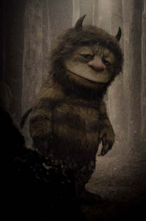 The hairy, scary monster in Maurice Sendak's classic children's book <i>Where the Wild Things Are</i>.