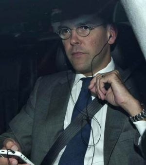 News Corp Chairman James Murdoch.