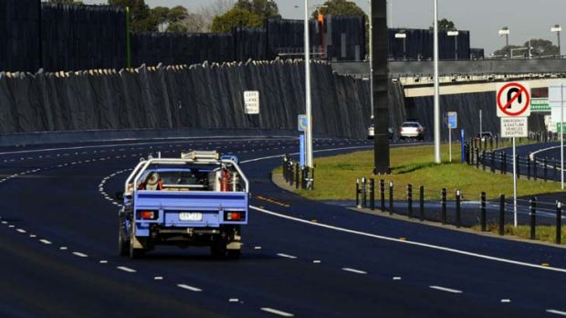 City driving in Australia is declining.