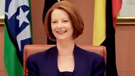 Prime Minister Julia Gillard chaired the Multi-Party Climate Change Committee on the morning of the release of the ...