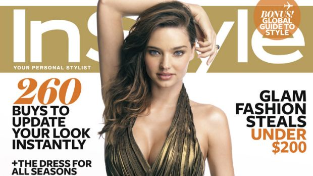 Exclusive interview ... Miranda Kerr tells InStyle how she manages motherhood and modellling.
