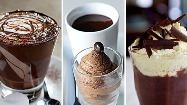 A treat for winter ... hot chocolate.