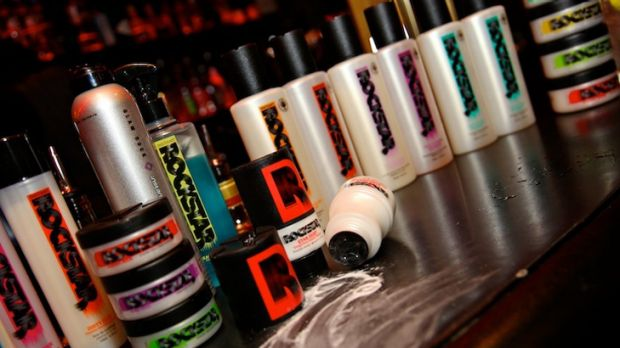 Dry shampoo ... Star Dust and other Instant Rockstar products.