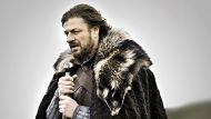 "Promotion still featuring Lord Eddard ""Ned"" Stark played by Sean Bean from a new HBO series, Game of Thrones.  THE AGE . ..."