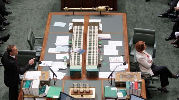 Tony Abbott says the Prime Minister's carbon tax is a money-go-round.