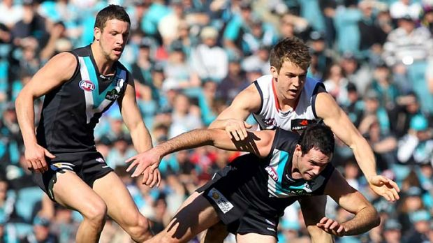 The Power belted the Demons in round 21, 2010.