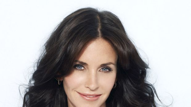 DIY dye ... Courteney Cox credits Clairol for her chestnut tresses.