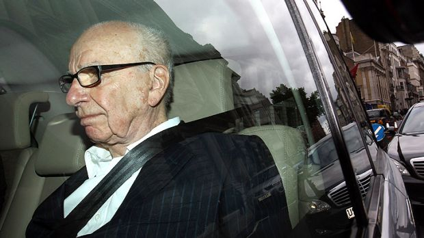 Politicians in Britain are preparing for an extraordinary vote against Rupert Murdoch (above).