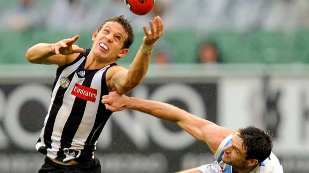 Luke Ball: Leads the way in tackles, hard-ball gets, clearances and sacrificial acts.