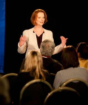 The Gillard government will continue to sell the carbon tax with the first television advertisements expected to air on ...