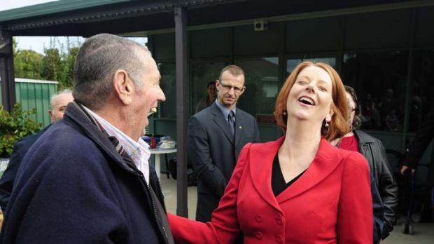 Showing bias ... voters are less than happy with Julia Gillard's delivery in the carbon tax debate.
