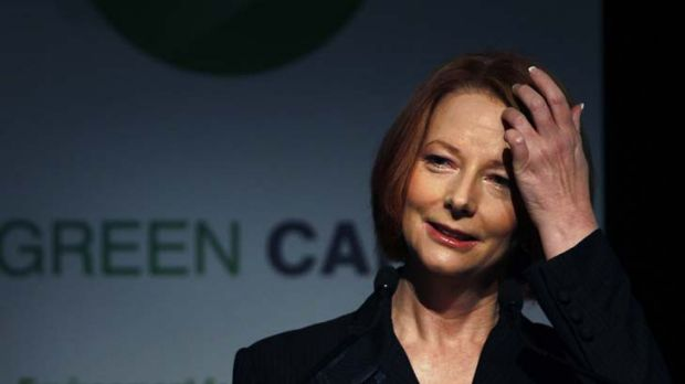 Doing it tough ... Julia Gillard is warning that things could get worse before they get better after a Herald/Nielsen ...