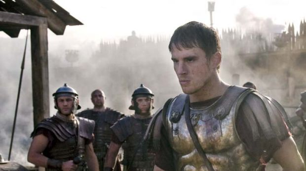 Facing the barbarians ... Channing Tatum stars as a Roman legionnaire in <em>The Eagle</em>.