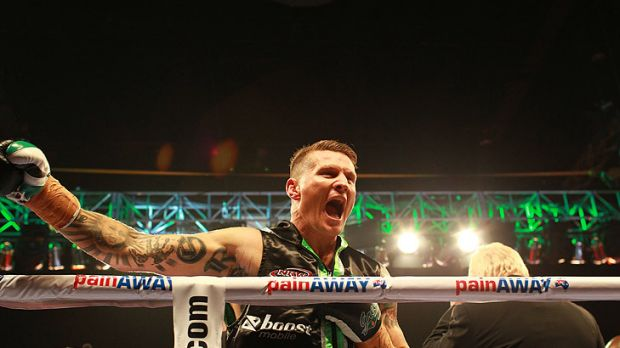 Danny Green... in the ring to fight Antonio Tarver.