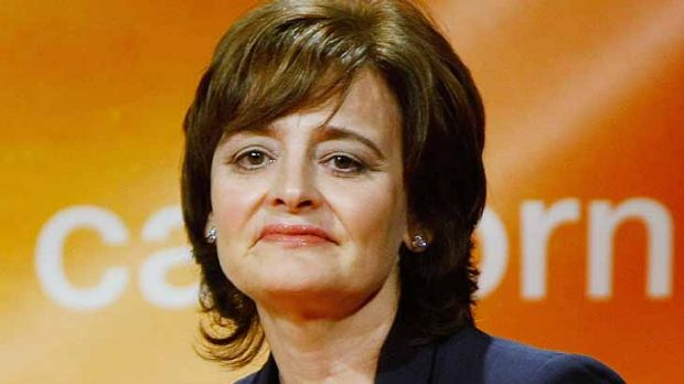 Cherie Blair ... under constant attack but let the criticisms bounce off her.