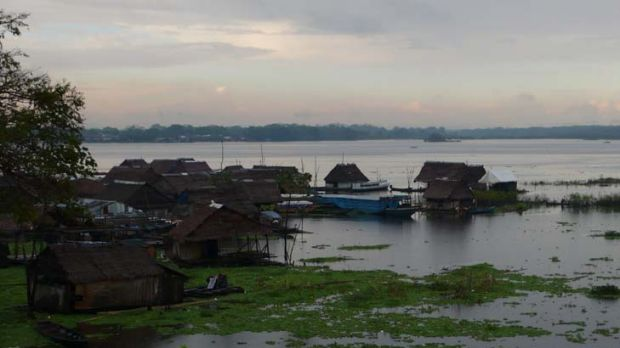 Iquitos, above, is the   largest city in the Peruvian rainforest. The Matses live in the roadless jungle a six-day ride ...