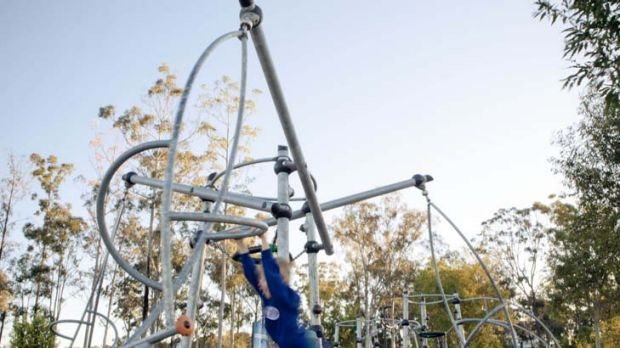 """Design award of the year ... Icon playground at Springfield Central Parklands near Ipswich. """"It ticked all the boxes"""" ..."""