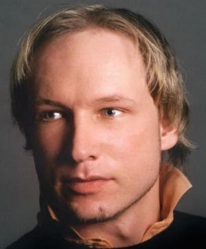 Anders Behring Breivik has been charged by police.