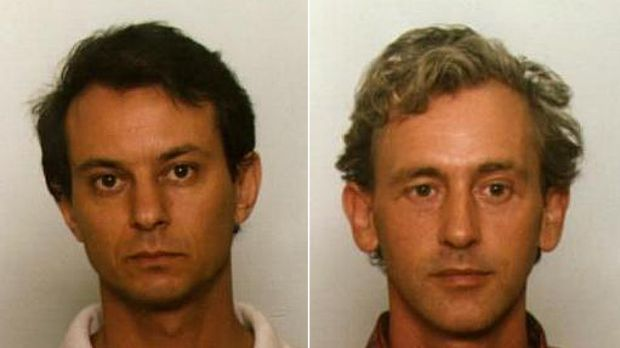 Leon Mark Melzack and David Allen Shom are wanted over a series of child sex offences.