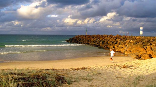 Kingscliff in 2008 before erosion destroyed the beach.