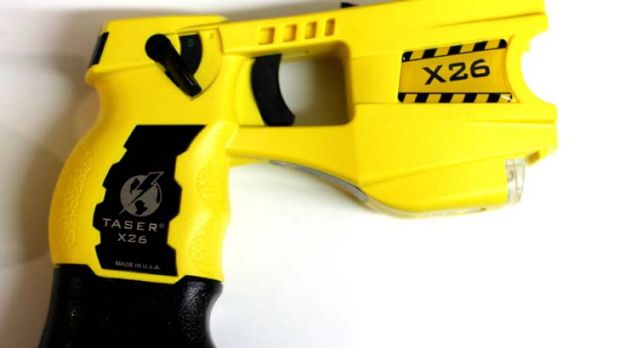 Under the spotlight ... a taser gun used by police in NSW.
