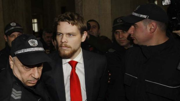 Time was running out for the man convicted of murder by hooliganism ...   Jock Palfreeman is escorted into court for his ...