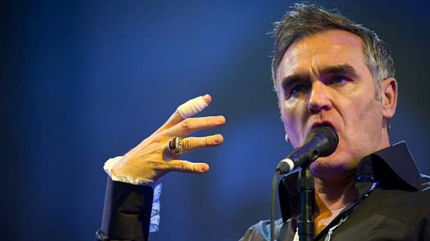 Morrissey: Musician and writer.
