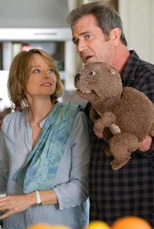 Not eager ... Jodie Foster and Mel Gibson fail to make the most of their (human) roles.