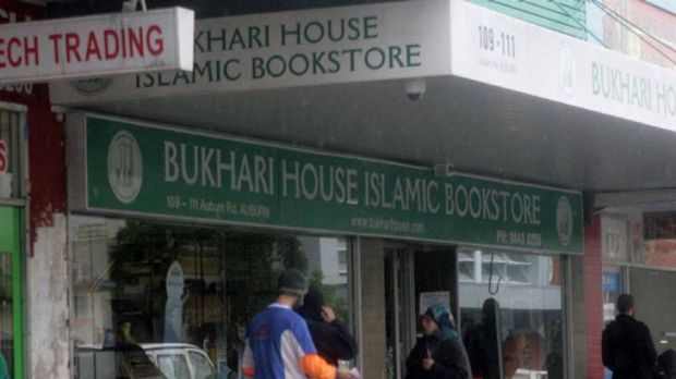 The Bukhari Islamic Bookstore in Auburn.