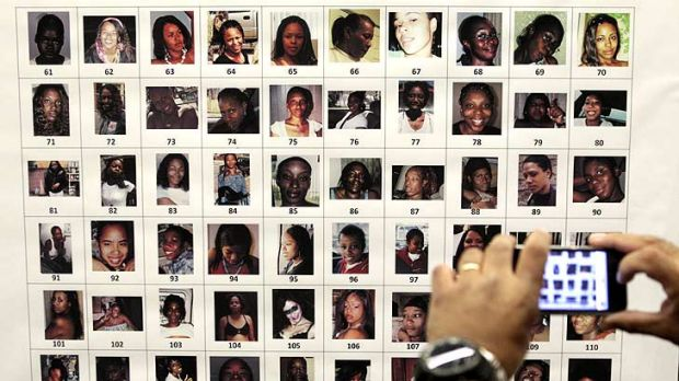 Bracing for a flood of tips from the public, detectives released dozens of photographs of unidentified women that were ...