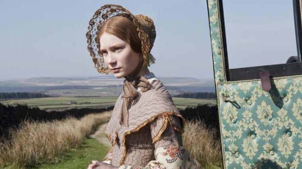 Perfect part ... Mia Wasikowska exudes grace and humility as Jane.