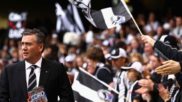 "Eddie McGuire was turning ""purple haze"" after Cloke rumours."