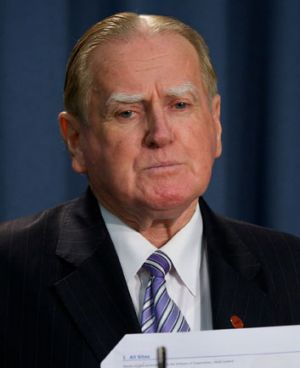 """My intention was to hold the Coalition to their original policy"" ... Fred Nile."