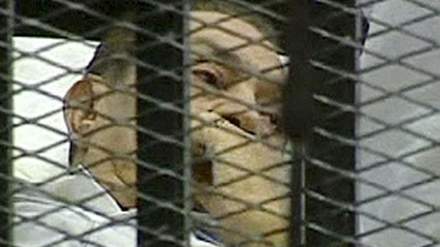 Cast adrift ... Hosni Mubarak is on trial accused for conspiring to kill hundreds of protestors.