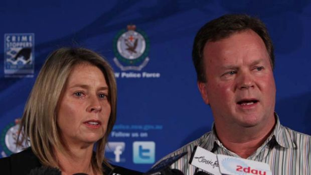 """""""We are extraordinarily proud of Maddie"""" ... Bill Pulver with wife Belinda."""