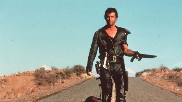 A little too green ... Mel Gibson in the original Mad Max.