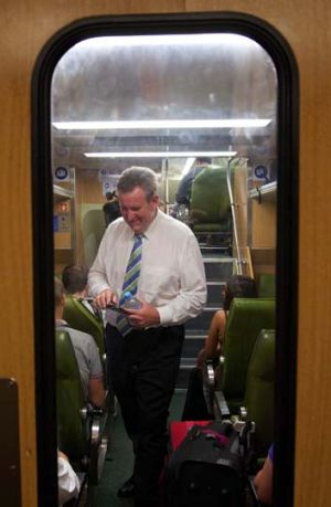 Bowed to pressure ... NSW Premier Barry O'Farrell.