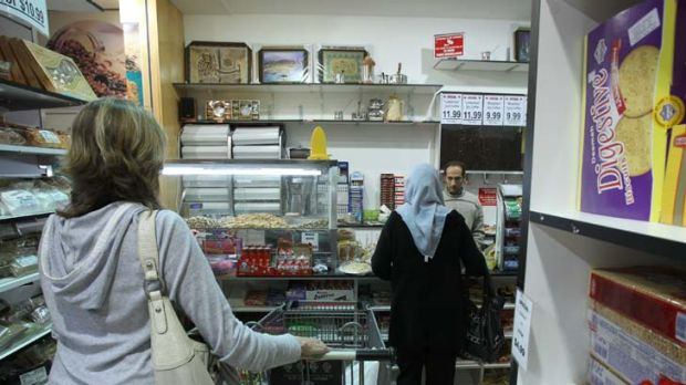 Trade warning ... the BasicsCard threatens stores such as Eastern Delights in Bankstown, say critics.