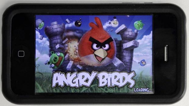 It's hard to stand out among blockbuster apps such as Angry Birds.