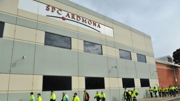 Staff at the Mooroopna plant were given the news yesterday. The company has faced flat sales, rising production costs ...
