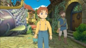 Ni no Kuni finally brings beautiful Ghibli animation into a game.