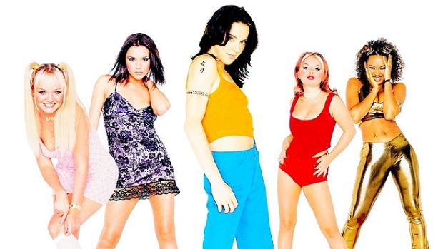 The Spice Girls ... in their heyday.