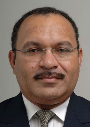 Papua New Guinea's Prime Minister, Peter O'Neill ... agreed to asylum seeker processing.