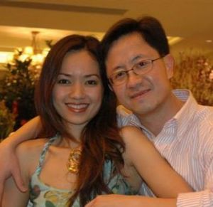 Niki Chow and husband Matthew Ng.