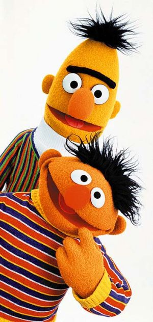Bert and Ernie are just good friends.