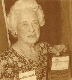 Eileen Morton ... won the first state lottery in 1931.