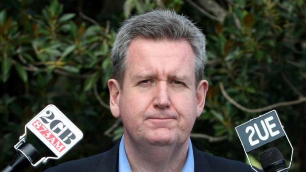 Barry O'Farrell ... forced to recommit.