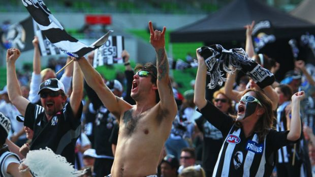 """Ever since Malthouse's """"rapist"""" jibe, Milne has been taunted by a section of Magpie fans every time Collingwood plays St ..."""