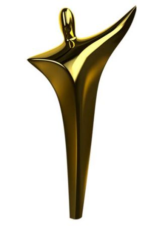 Shape of things to come ... the statuette by Ron Gomboc to be presented to winners of the new film awards.