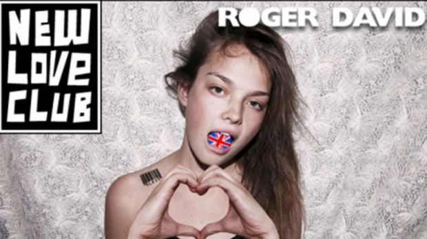 Roger David's banned ad campaign 'New Love Club'.